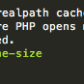 Changing PHP realpath_cache_size in Sublime Text