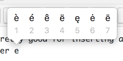 """Extra-special"""" characters on an Italian keyboard with Mac OS"""